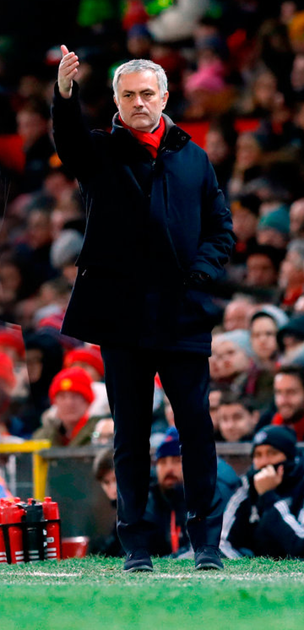 Manchester United manager Jose Mourinho. Photo: PA Wire