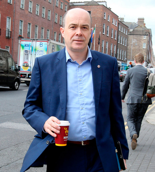 Denis Naughten said it would be a challenging year for RTÉ