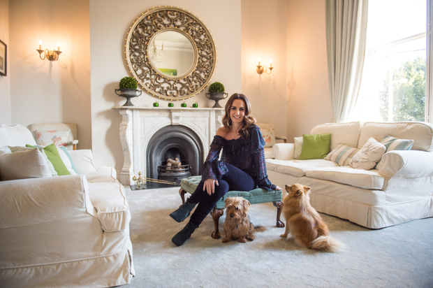 Lorraine Keane at home in south Dublin.