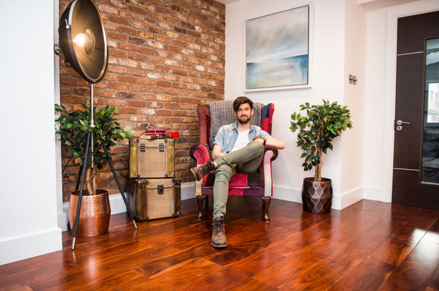 Eoghan McDermott's home featured on Celebrity Home of the Year last night.