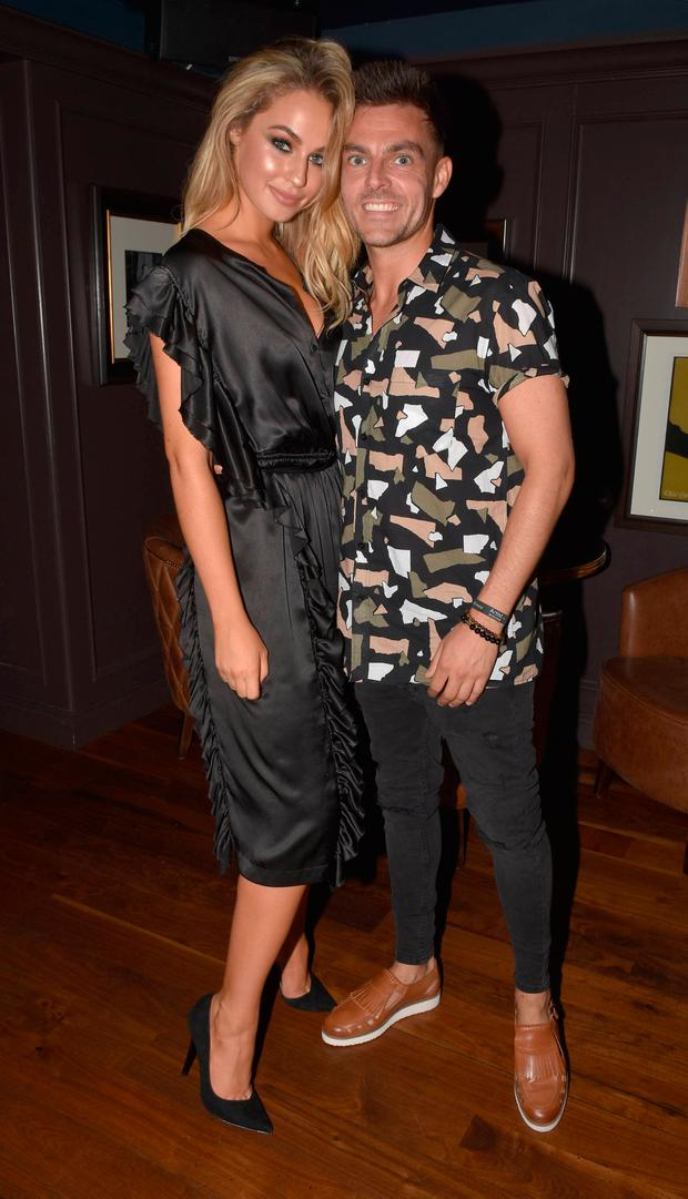 Thalia Heffernan & Ryan McShane launch 'Walk With Us' charity trek at NoLita, Dublin