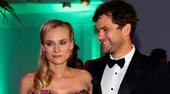 Actress Diane Kruger and Actor Joshua Jackson attend the 65th Anniversary Party at the Agora May 21, 2012 in Cannes, France. (Photo by Vittorio Zunino Celotto/Getty Images)