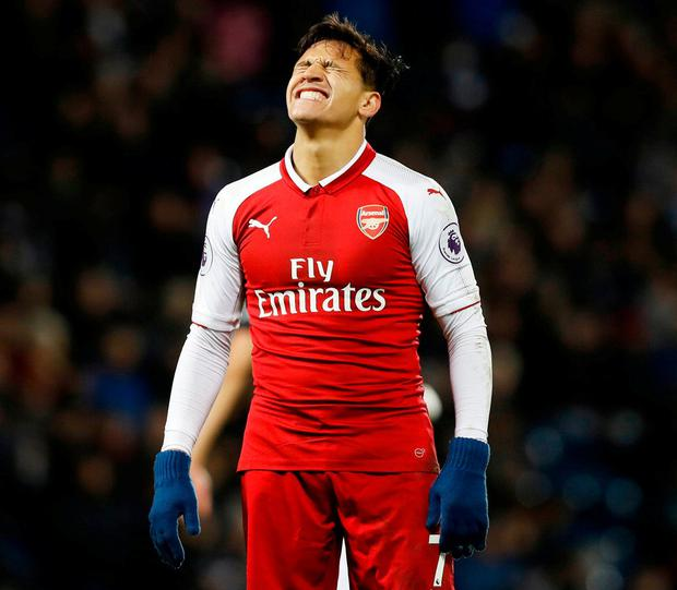 Alexis Sanchez looks to be on his way out at Arsenal. Photo: PA