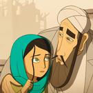 A scene from Cartoon Saloon's animated feature 'The Breadwinner', which has been nominated for a Golden Globe
