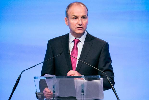 Micheál Martin is demanding action on the housing crisis. Photo: Kyran O'Brien