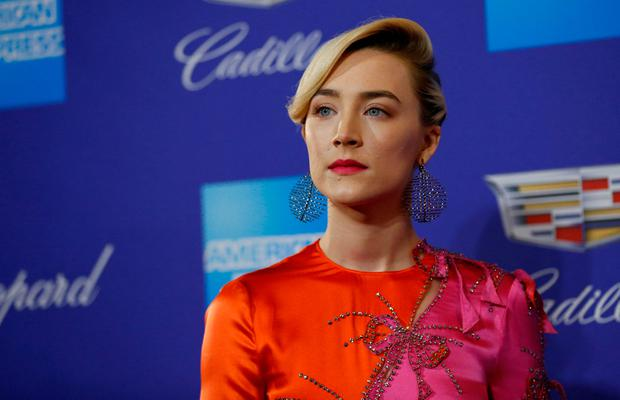 Saoirse Ronan arrives for the Palm Springs awards. REUTERS/Mario Anzuoni