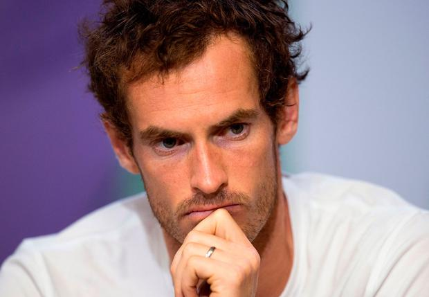 Andy Murray faces an uncertain future in tennis. Photo: PA Wire