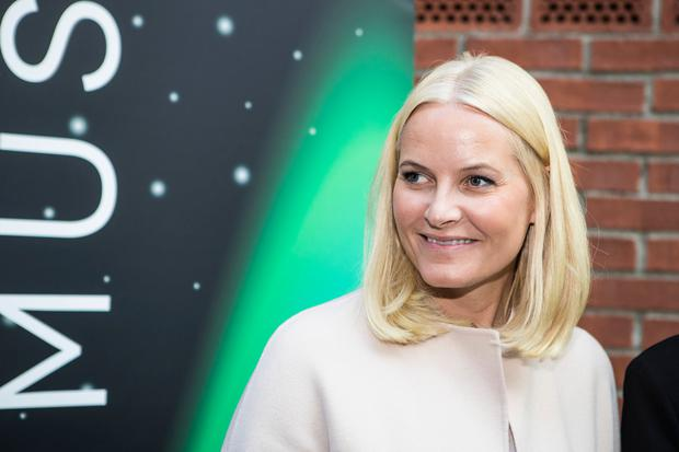 Princess Mette-Marit of Norway during the Starmus Festival on June 20, 2017 in Trondheim, Norway. (Photo by Michael Campanella/Getty Images)