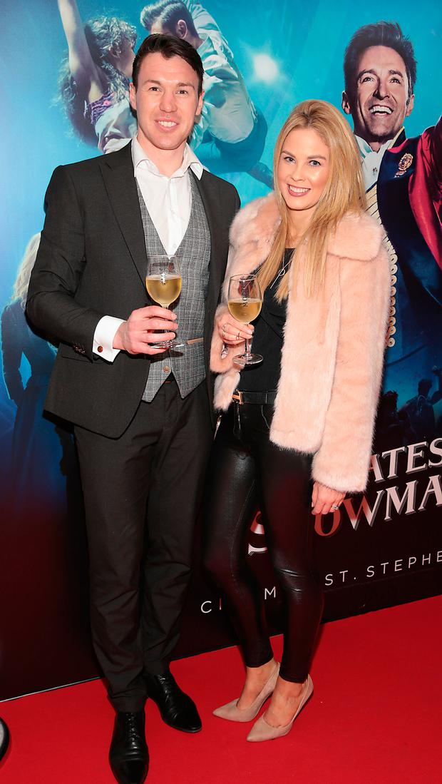 Eamonn Fennell and Fiona Creely at the preview screening of The Greatest Showman at the Lighthouse Cinema, Dublin. Picture: Brian McEvoy