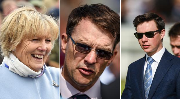 Jessica Harrington, Aidan O'Brien and Joseph O'Brien
