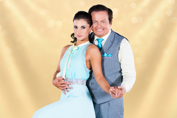 Marty Morrissey and Ksenia Zsikhotska