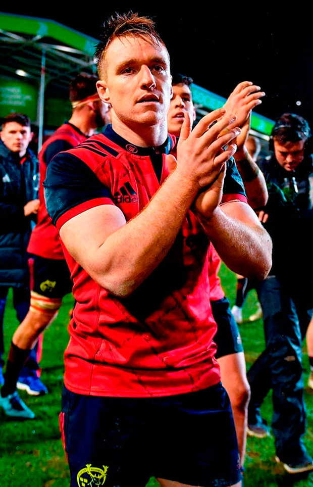 Munster centre Rory Scannell has urged his team-mates to take responsibility for their disciplinary issues. Photo: Brendan Moran/Sportsfile