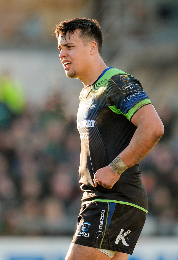 """Parata: """"Zebre have an attractive style of rugby, one I like very much."""" Photo by Seb Daly/Sportsfile"""