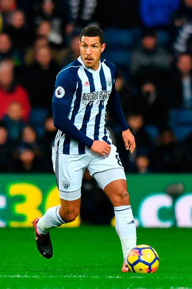 West Bromwich Albion's Jake Livermore. Pic: PA.
