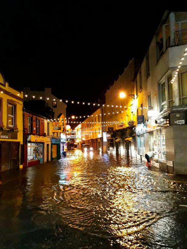 The storms hit Galway hard