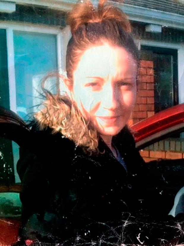This is the very last photo taken of young mum Anna Finnegan before she was killed by ex-partner Vesel Jahiri