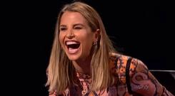 Vogue Williams on BBC's Celebrity Mastermind