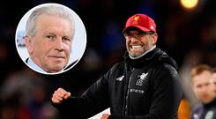 John Giles is not happy with Jurgen Klopp's approach to the FA Cup