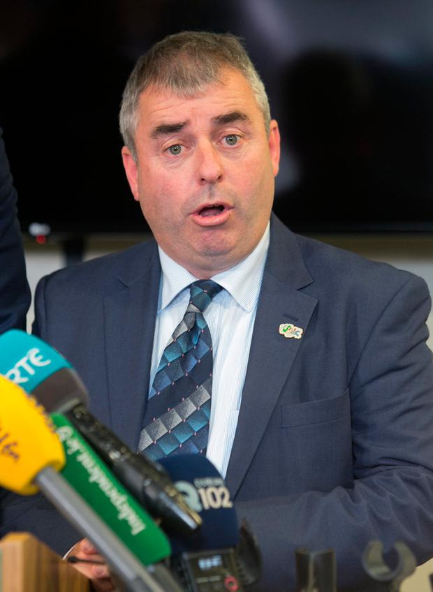 Minister Kevin 'Boxer' Moran. Picture: Collins