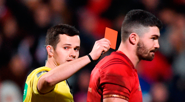 For referees, every match is an away fixtures,' says Sean Gallagher Photo: Sportsfile