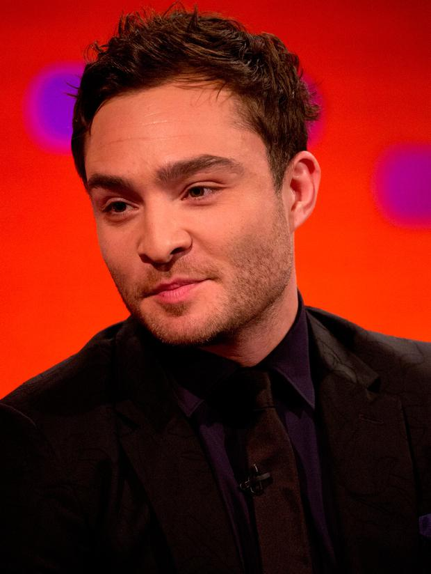 Ed Westwick who has been accused of sexual assault. Photo: PA