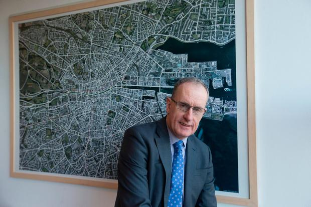Dublin City Council CEO Owen Keegan is keen to go ahead with College Green plaza plans