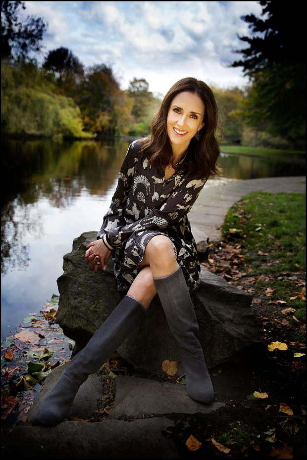 Steady as rock: 'Dancing with the Stars' contestant Maia Dunphy. Photo: David Conachy