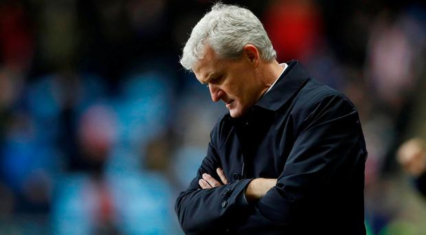 Stoke City sack Mark Hughes
