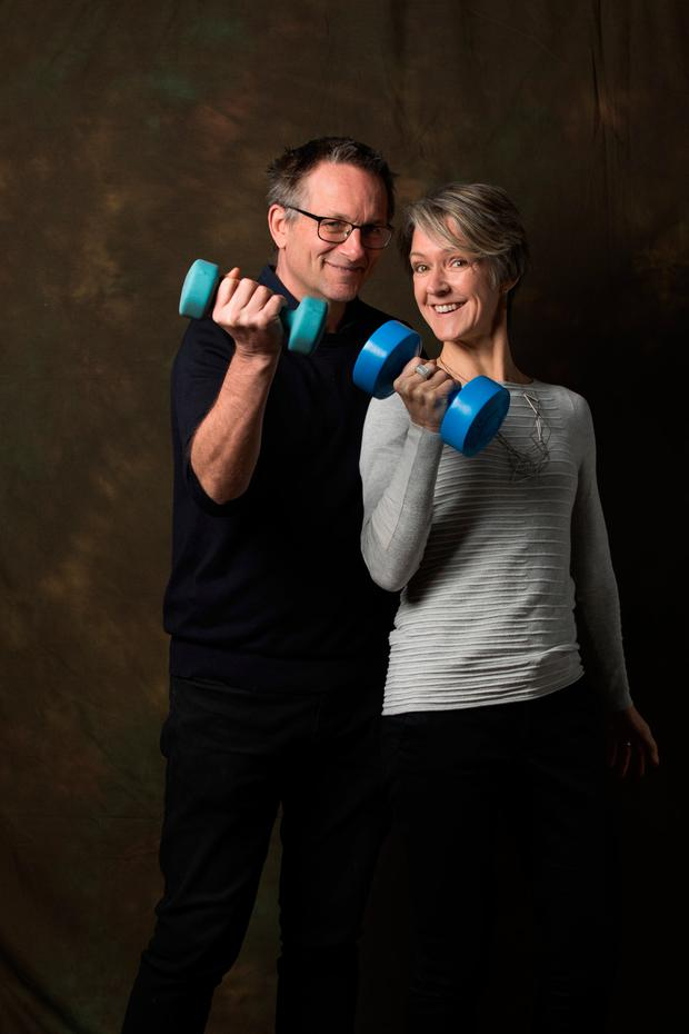 Dr Michael Mosley and Dr Clare Bailey