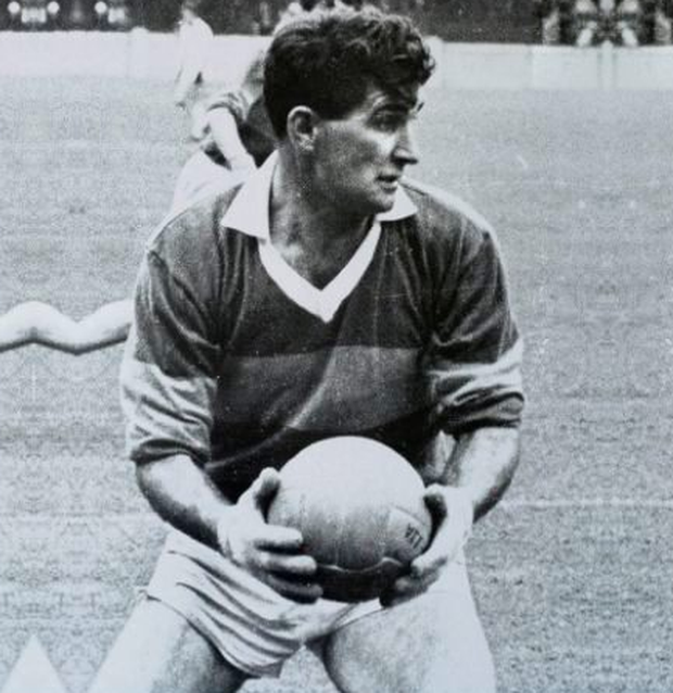 Mick O'Dwyer playing for Kerry in 1964. Photo: Connolly Collection/Sportsfile