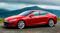 POWER TO THE PEOPLE: The fast-selling electric Tesla S