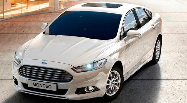 FUEL FOR THOUGHT: The new Mondeo HEV
