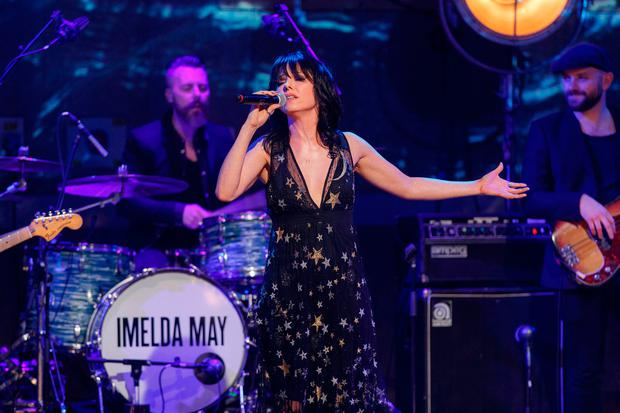 Imelda May performing during The Imelda May New Year's Eve Special for RTÉ One. Picture Andres Poveda / RTÉ