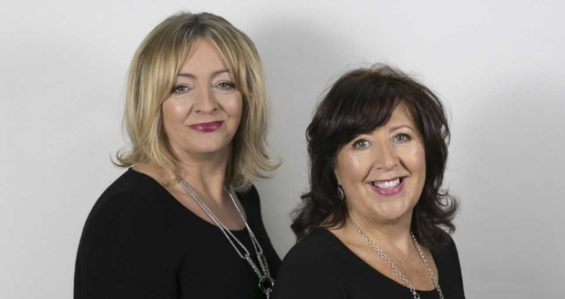 Yvonne McDonald and Mary Lowe, who run CÓRus together.