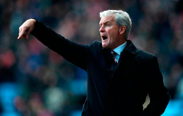 Mark Hughes was sacked by Stoke City after their FA Cup defeat to Coventry yesterday. Photo: Matthew Lewis/Getty Images