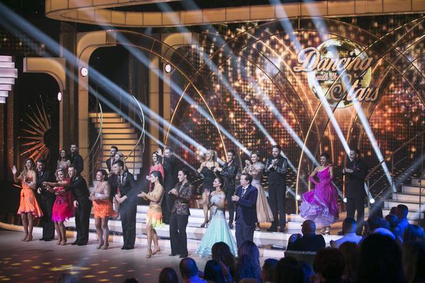 The opening show of RTE's Dancing with the Stars. kobpix