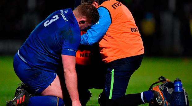 Garry Ringrose is a serious doubt for the Six Nations