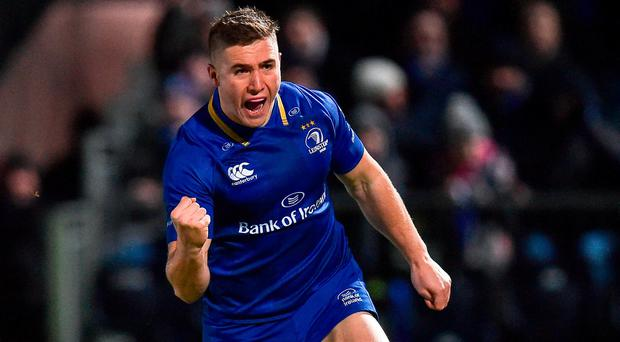 This Christmas it was Jordan Larmour, who produced a string of sensational performances and who is now being spoken of as a potential Six Nations bolter. Photo: Seb Daly/Sportsfile