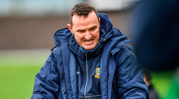 """McEntee: """"A lot of the new faces that hadn't put on a Meath shirt before, certainly not at senior level, I thought they applied themselves well."""" Photo: Sportsfile"""
