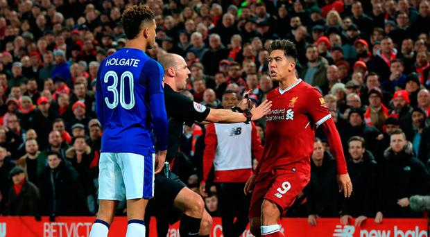 Roberto Firmino cleared of racially abusing Mason Holgate by the FA