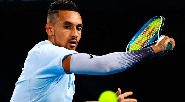 Kyrgios overcomes Dimitrov, to face Harrison in Brisbane final
