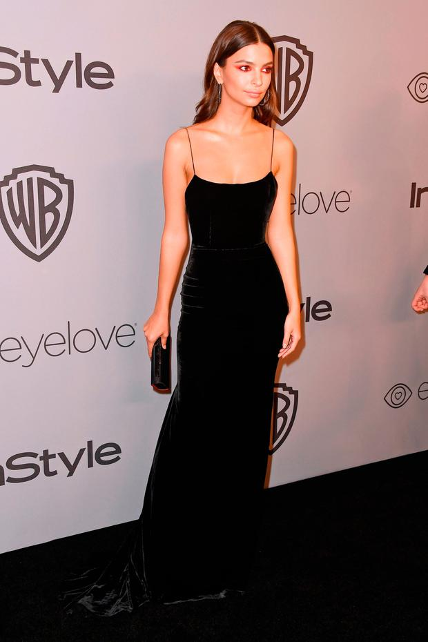 Emily Ratajkowski attends 19th Annual Post-Golden Globes Party hosted by Warner Bros. Pictures and InStyle at The Beverly Hilton Hotel on January 7, 2018 in Beverly Hills, California. (Photo by Frazer Harrison/Getty Images)