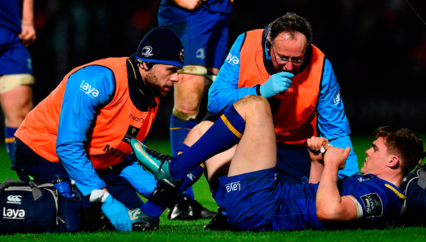 Garry Ringrose is the latest player to be hit by syndesmosis. Photo: Sportsfile