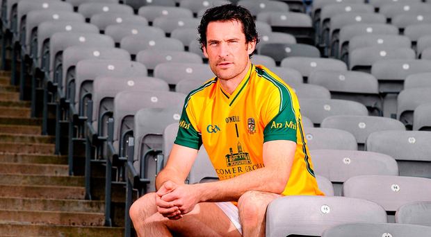 David Gallagher's recall to the Meath set-up as a goalkeeping option is even more unexpected because he is better known as an outfield player on the club circuit. Photo: Sportsfile