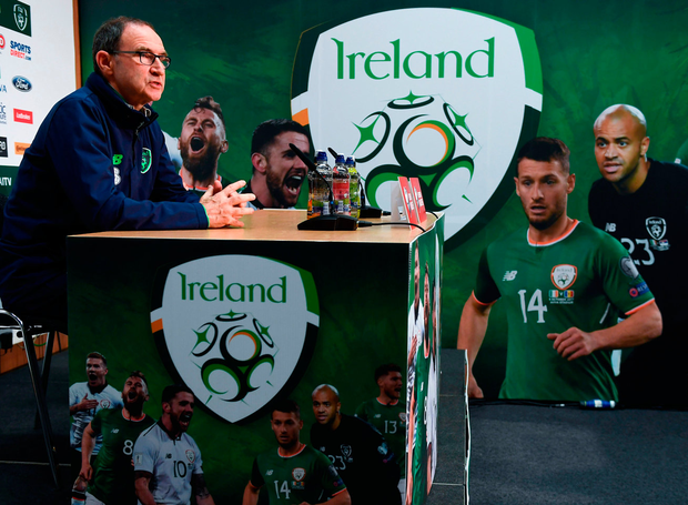 Ireland manager Martin O'Neill has been linked to a return to club management with Stoke City. Photo: Sportsfile