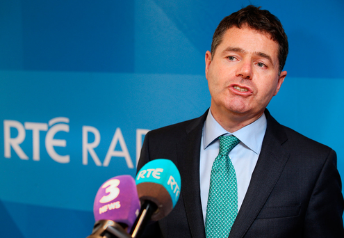 Finance Minister Paschal Donohoe said 'the safety net for the majority of workers can't simply be the State pension'