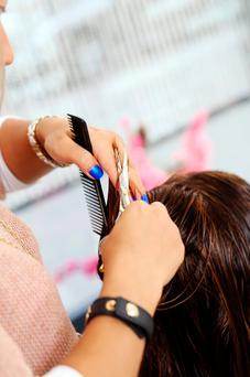 Post-Leaving Cert courses in hairdressing are popular. Stock picture
