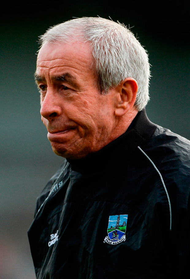 Fermanagh Manager Peter McGrath. Photo: Sportsfile
