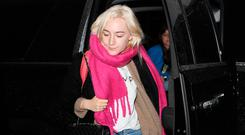 Actress Saoirse Ronan is seen on January 8, 2018 in Los Angeles, CA. (Photo by SMXRF/Star Max/GC Images)