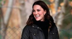 Catherine, Duchess of Cambridge visits the Robin Hood Primary School to celebrate ten years of The Royal Horticultural Society campaign for school gardening on November 29, 2017 in London, England. (Photo by Chris Jackson/Getty Images)